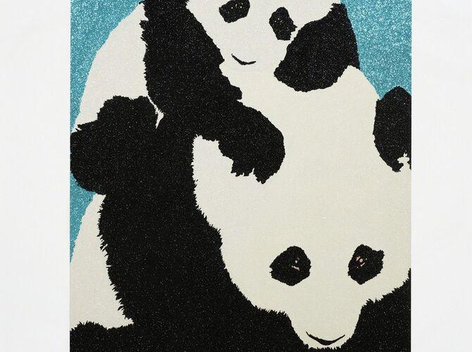 Pandas by Rob Pruitt