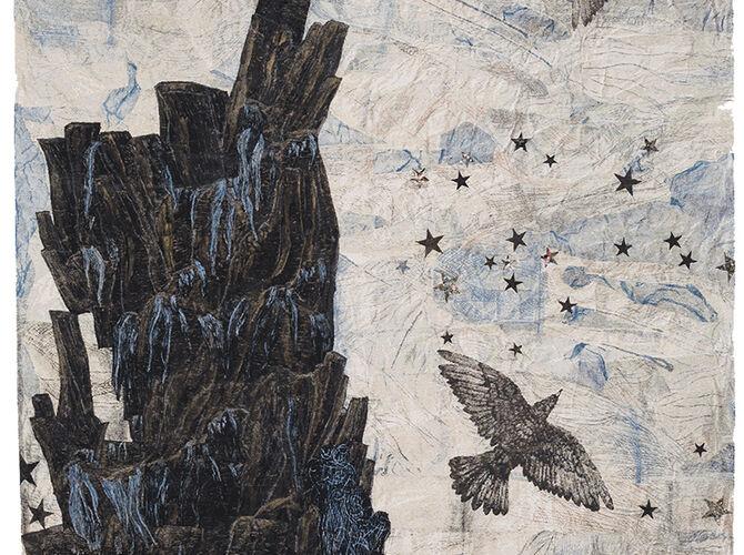 Tapestries by Kiki Smith