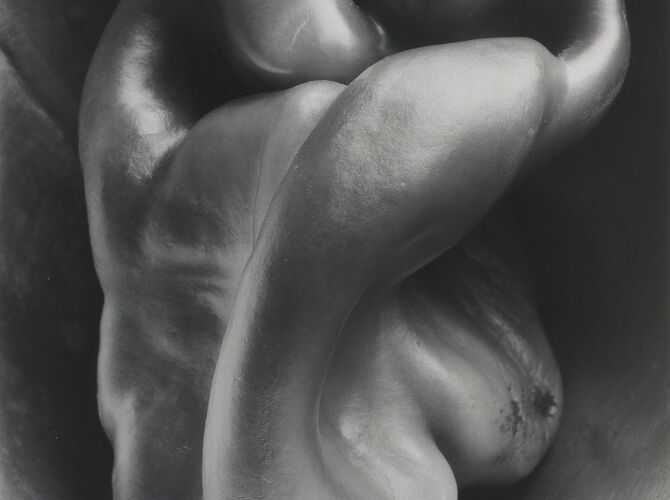 Peppers by Edward Weston