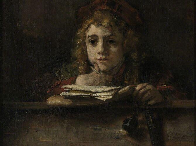 Titus by Rembrandt van Rijn