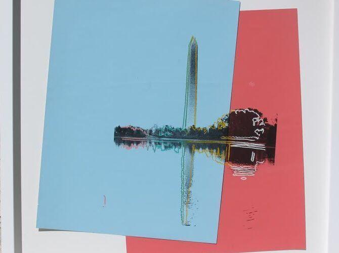 Washington Monument by Andy Warhol