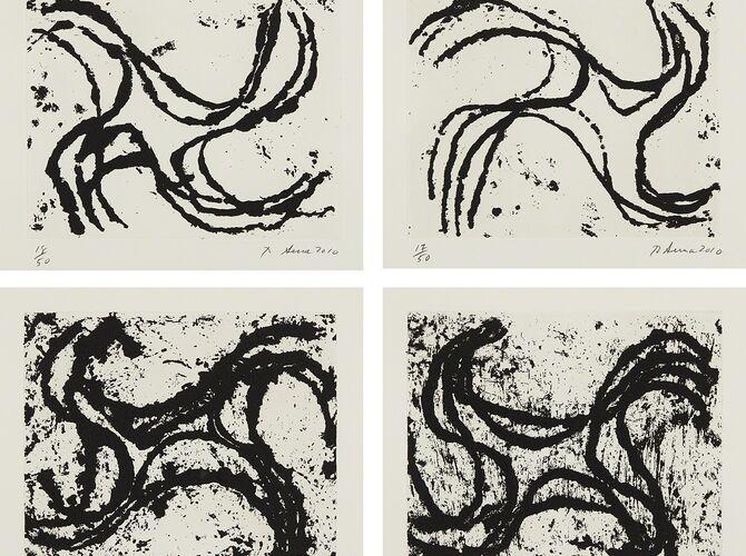 Sketches by Richard Serra