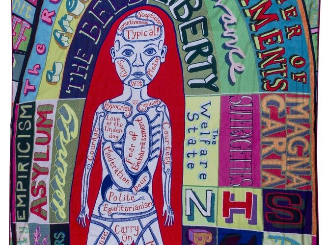 Comfort Blankets by Grayson Perry
