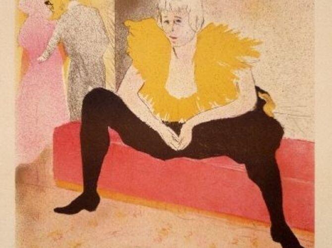 Circus by Henri de Toulouse-Lautrec