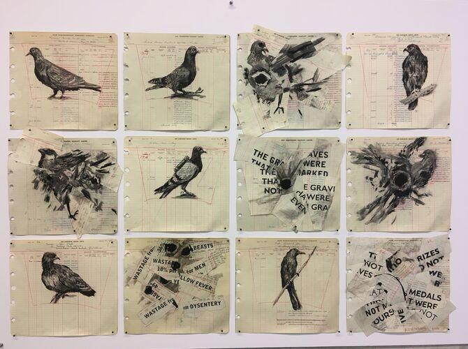 Birds by William Kentridge