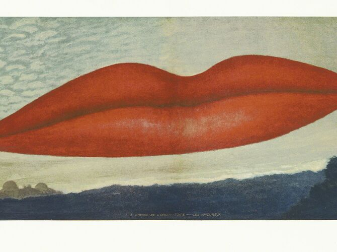 Lips by Man Ray