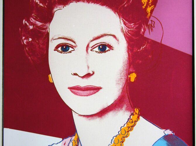 Queen Elizabeth II of the United Kingdom by Andy Warhol