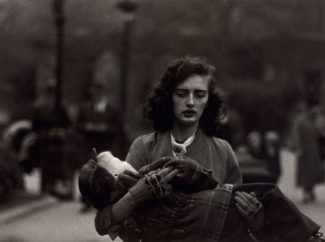 Central Park by Diane Arbus
