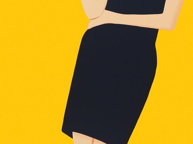 Black Dress by Alex Katz