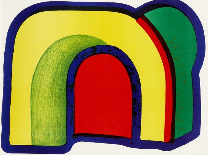Arch by Howard Hodgkin
