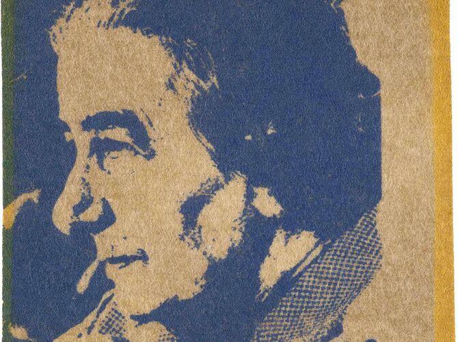 Golda Meir by Andy Warhol