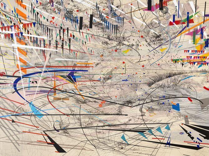 Stadia by Julie Mehretu