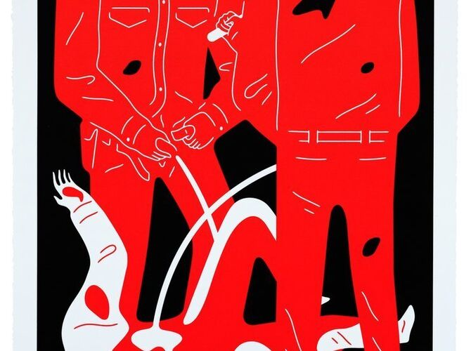 Pissers by Cleon Peterson