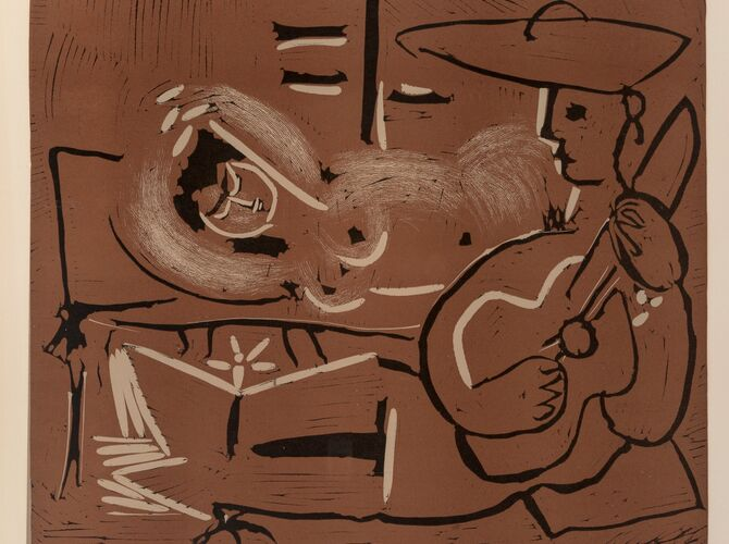 Linocuts by Pablo Picasso