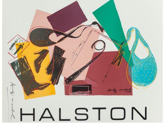 Halston by Andy Warhol