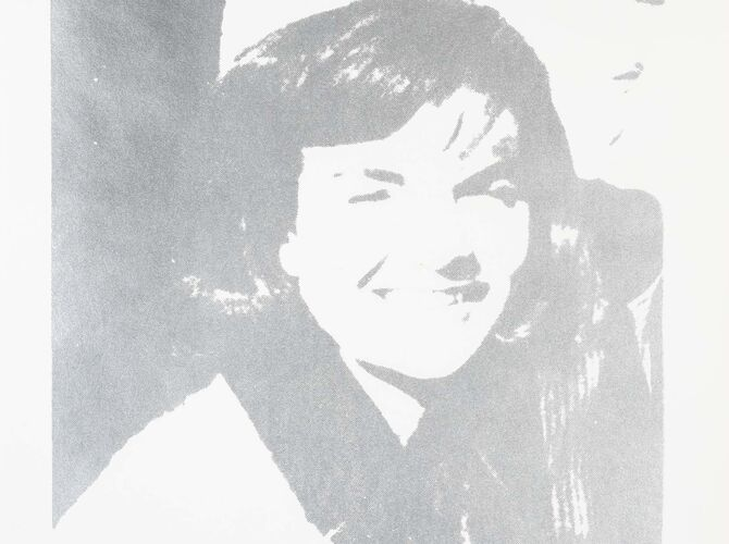 Jacqueline Kennedy by Andy Warhol