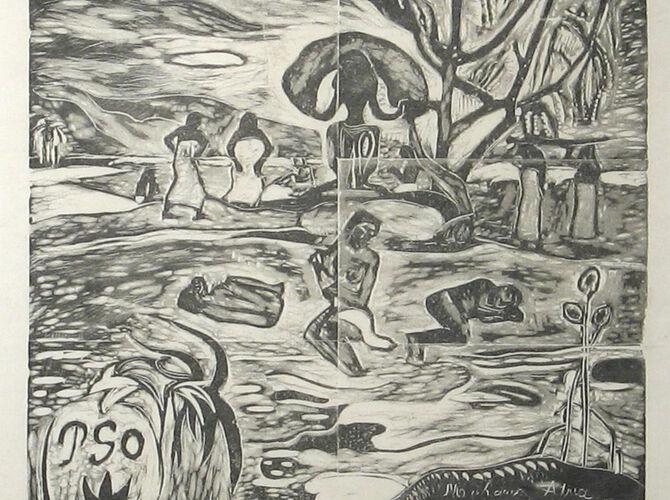 Religion by Paul Gauguin