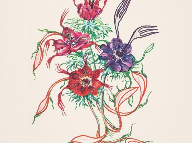 Fruits by Salvador Dalí