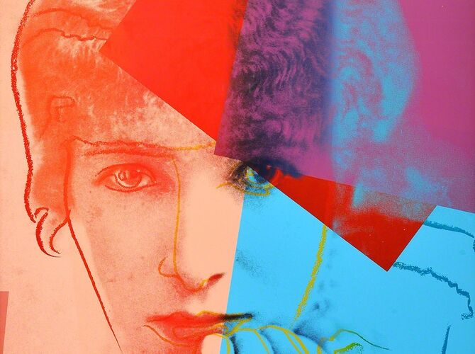 Sarah Bernhardt by Andy Warhol