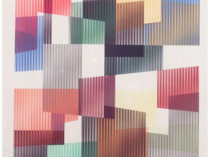 Agamographs by Yaacov Agam