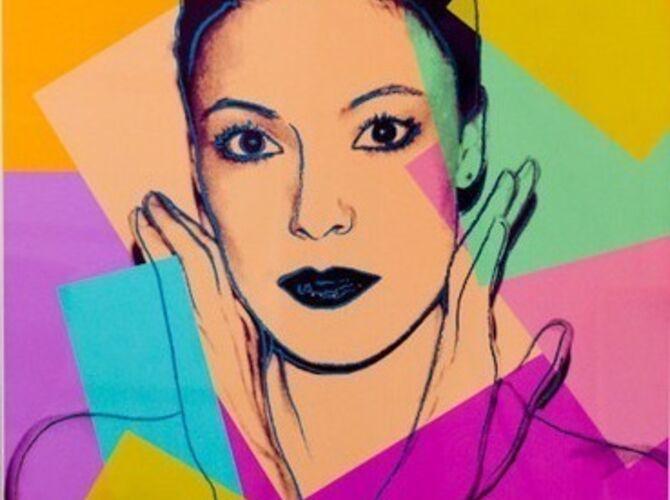 Karen Kain by Andy Warhol