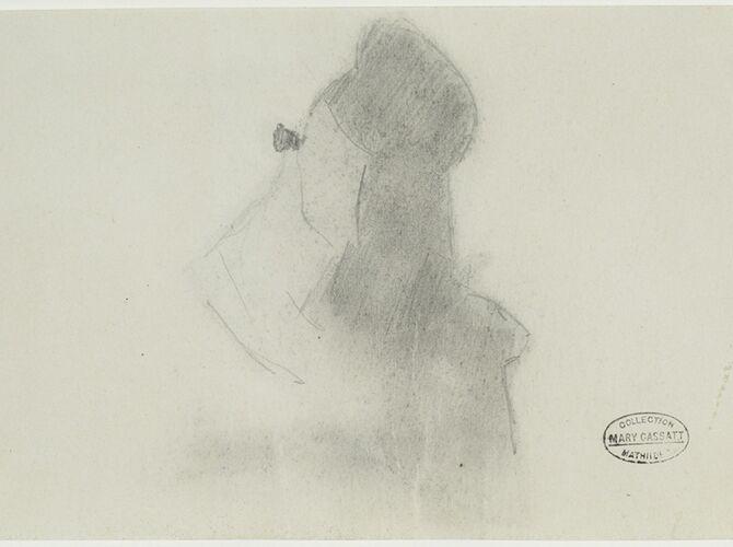 In the Opera by Mary Cassatt
