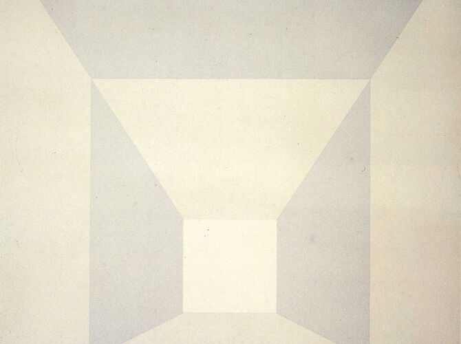 Mitered Squares by Josef Albers