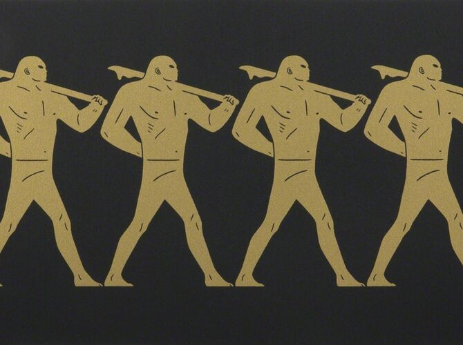 Marchers by Cleon Peterson