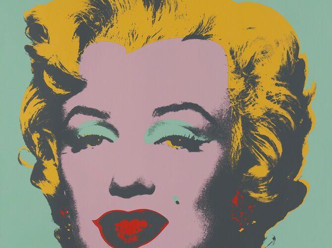 Green Marilyn by Andy Warhol