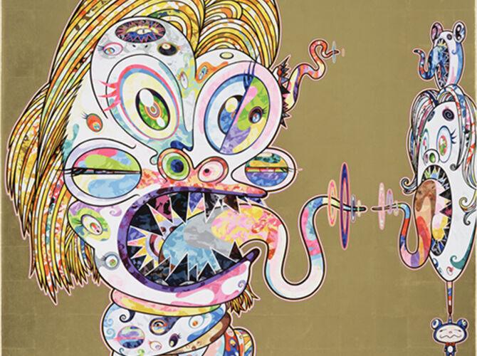 Homage to Francis Bacon by Takashi Murakami
