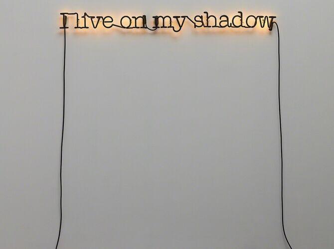 Neon by Glenn Ligon