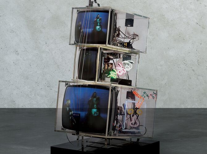 TV by Nam June Paik