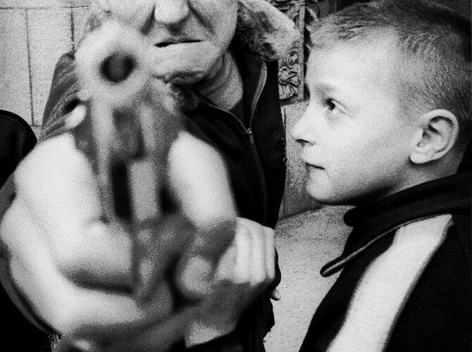 Guns by William Klein