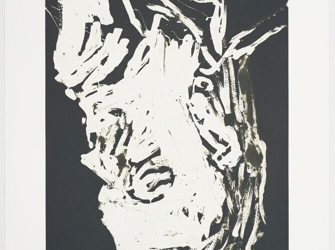 Elke by Georg Baselitz