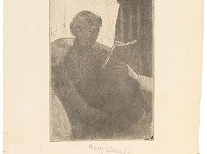 Lydia by Mary Cassatt