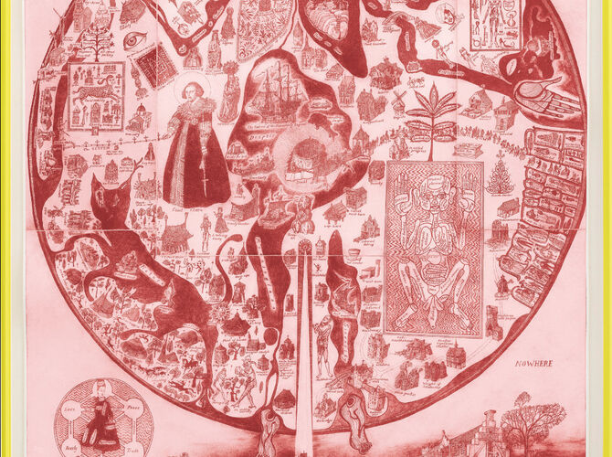 Maps by Grayson Perry