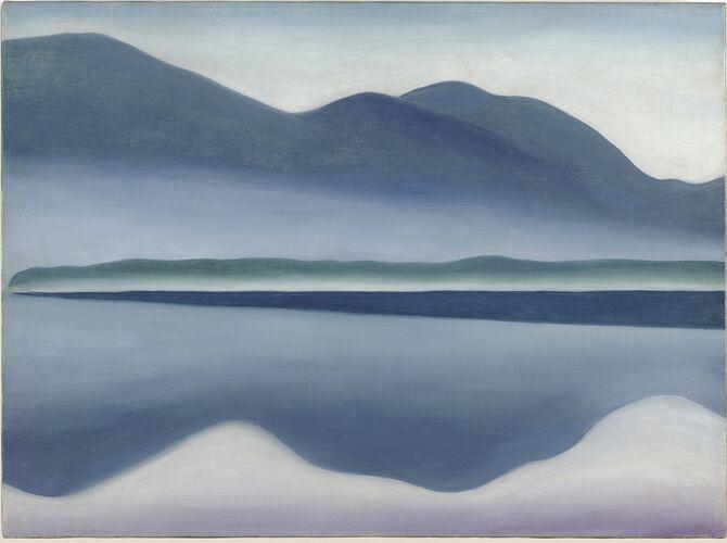 Lake George by Georgia O'Keeffe