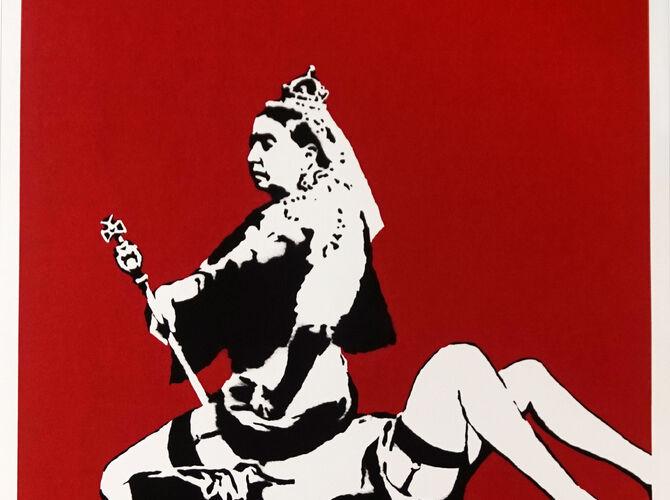 Queen Victoria by Banksy