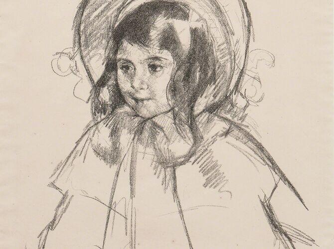 Sketches by Mary Cassatt