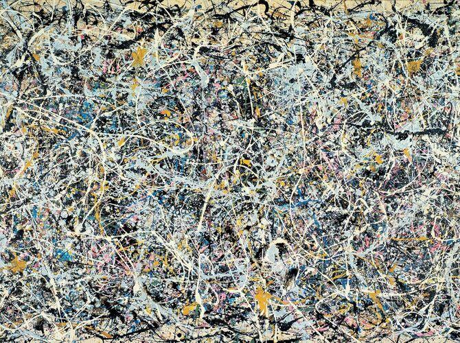 Splatter Paintings by Jackson Pollock