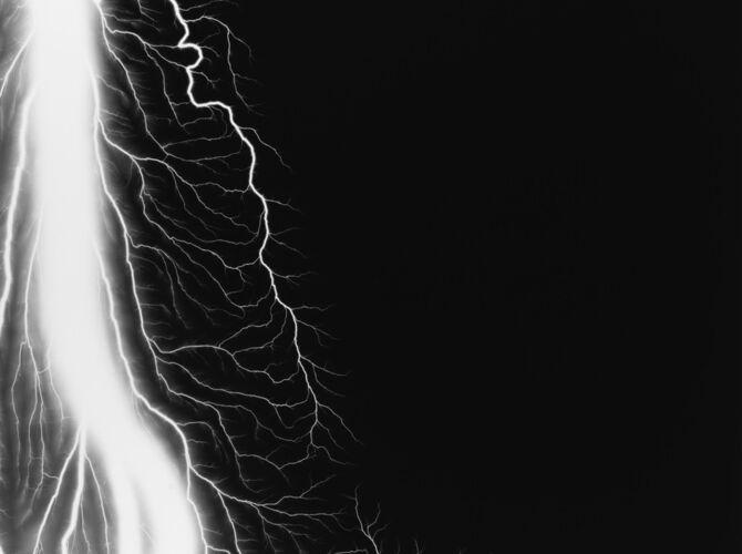 Lightning Fields by Hiroshi Sugimoto