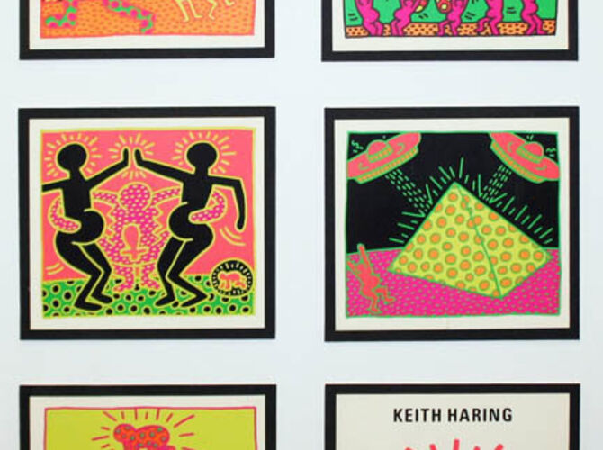 UFOs by Keith Haring