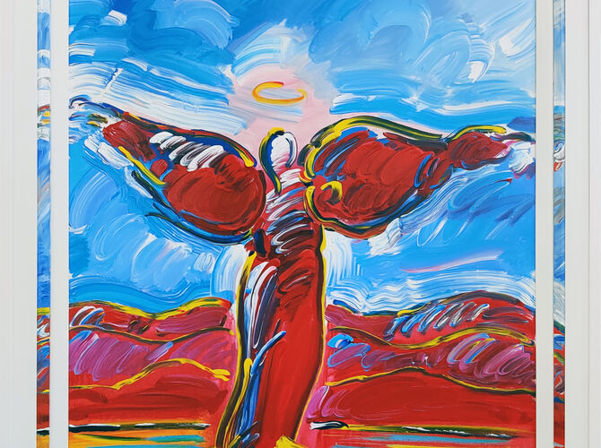 Angels by Peter Max