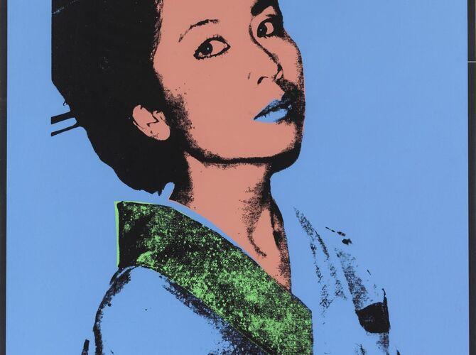 Kimiko by Andy Warhol