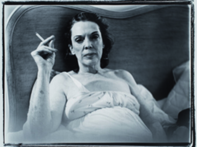 Portraits of Her Mom by Marilyn Minter