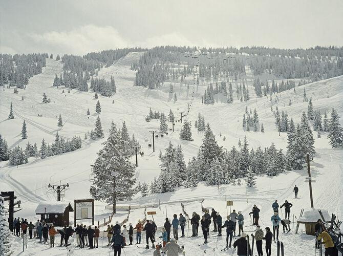 Ski by Slim Aarons
