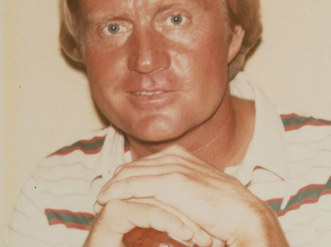 Jack Nicklaus by Andy Warhol