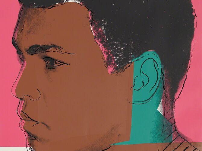 Muhammad Ali by Andy Warhol