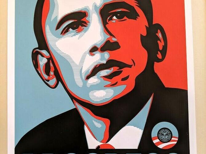 Political Portraits by Shepard Fairey