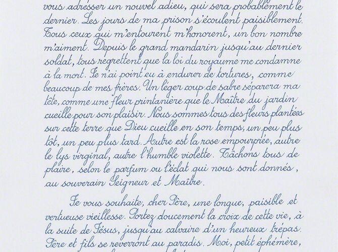 Letter by Danh Vō